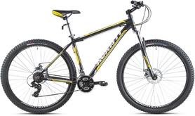 """Велосипед горный Avanti Galant 650B 2016 черно-желтый матовый - 19"""""""
