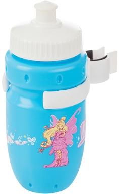 Фляга велосипедная детская с держателем Cyclotech Water bottle with holder CBS-1BN blue