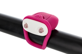 Фонарь габаритный передний Cyclotech Bicycle front light CFL-4P pink