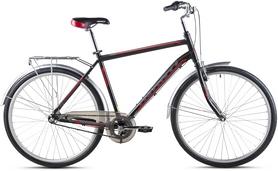 """Велосипед городской Avanti Triumph 2016 28"""" Nexus черно-зеленый матовый, рама  - 21"""""""