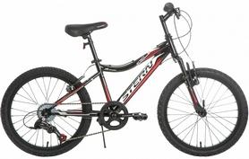 """Распродажа*! Велосипед подростковый горный Stern Attack 20"""" 2016 черный, рама - 15"""""""