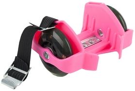 Ролики на пятку Reaction Shoes rollers RRSH-P розовые