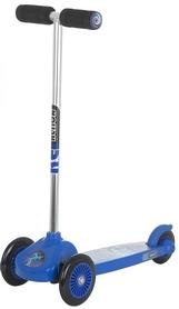 Самокат трехколесный Reaction 3-wheels steel scooter 3W-BEGZ9 синий/черный