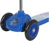 Самокат трехколесный Reaction 3-wheels steel scooter 3W-BEGZ9 синий/черный - фото 5