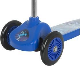 Фото 5 к товару Самокат трехколесный Reaction 3-wheels steel scooter 3W-BEGZ9 синий/черный