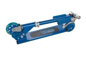 Фото 2 к товару Самокат двухколесный Reaction Folding scooter RSCST100BL синий