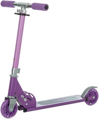 Самокат двухколесный Reaction Folding scooter RSCST100V фиолетовый