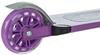 Самокат двухколесный Reaction Folding scooter RSCST100V фиолетовый - фото 6