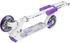 Фото 2 к товару Самокат двухколесный Reaction Folding scooter RSCST125WG белый/серый/фиолетовый