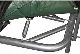 Фото 2 к товару Батут с защитной сеткой Kidigo 215х150 см