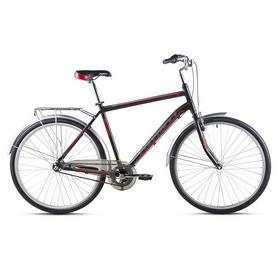 """Велосипед городской Avanti Triumph 2016 28"""" черно-красный матовый, рама - 21"""""""