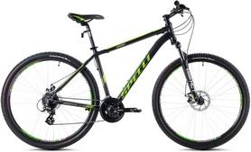 """Велосипед горный Spelli SX-3500 2016 26"""" черно-зеленый матовый, рама - 17"""""""