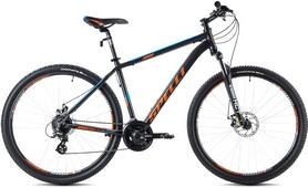 """Велосипед горный Spelli SX-3500 2016 26"""" черно-оранжевый матовый, рама - 17"""""""