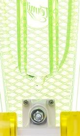 Фото 4 к товару Скейтборд Termit CRUISE1676 зеленый/желтый
