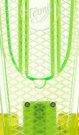 Фото 5 к товару Скейтборд Termit CRUISE1676 зеленый/желтый