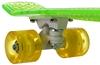 Скейтборд Termit CRUISE1676 зеленый/желтый - фото 6