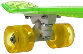 Фото 6 к товару Скейтборд Termit CRUISE1676 зеленый/желтый