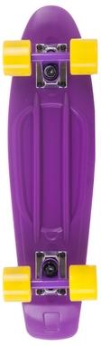 Пенни борд Termit CRUISE16P6 фиолетовый/желтый
