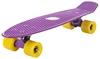 Пенни борд Termit CRUISE16P6 фиолетовый/желтый - фото 4