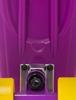 Пенни борд Termit CRUISE16P6 фиолетовый/желтый - фото 5