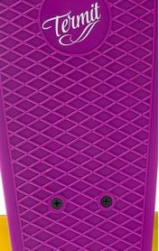 Фото 6 к товару Пенни борд Termit CRUISE16P6 фиолетовый/желтый