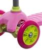 Самокат трехколесный Reaction 3-wheels steel scooter S15-3WXG розовый - фото 4