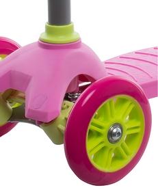 Фото 4 к товару Самокат трехколесный Reaction 3-wheels steel scooter S15-3WXG розовый