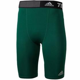 Фото 1 к товару Шорты компрессионные Adidas TF Base ST 9 зеленые