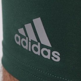 Фото 2 к товару Шорты компрессионные Adidas TF Base ST 9 зеленые