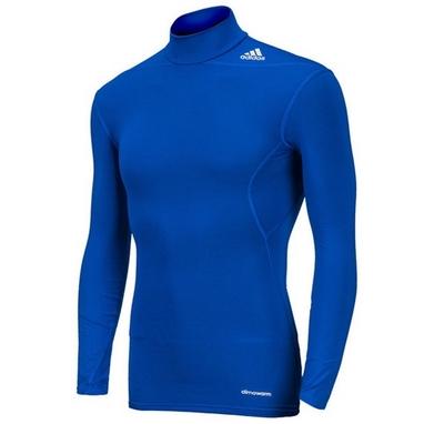 Футболка компрессионная Adidas TF Base W MOC синяя