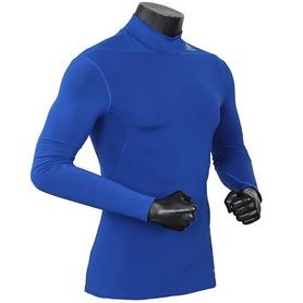Фото 3 к товару Футболка компрессионная Adidas TF Base W MOC синяя