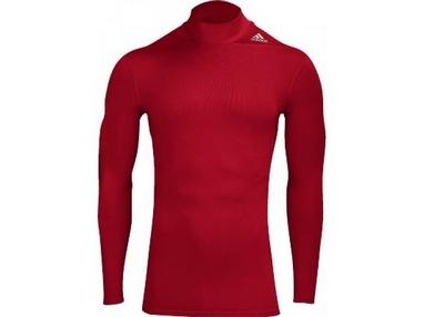 Футболка компрессионная Adidas TF Base W MOC красная