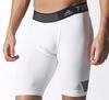 Шорты компрессионные Adidas TF Cool ST 9 белые - фото 2
