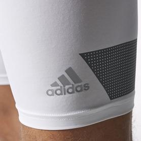 Фото 3 к товару Шорты компрессионные Adidas TF Cool ST 9 белые