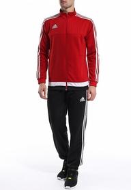 Фото 3 к товару Костюм спортивный Adidas Tiro 15 Pes Suit  красный