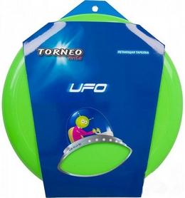 Фото 2 к товару Тарелка летающая фрисби Torneo 25 см зеленая