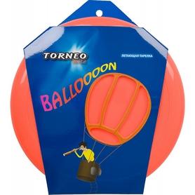 Фото 2 к товару Тарелка летающая фрисби Torneo 23 см оранжевая