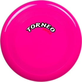 Распродажа*! Летающая тарелка Torneo 23 см фуксия