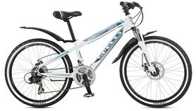 Фото 1 к товару Велосипед подростковый горный Spelli Cross 2016 белый - 12,5