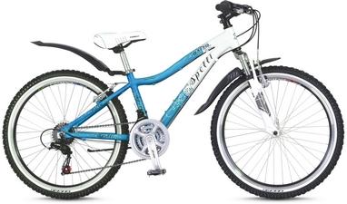 Велосипед подростковый горный Spelli Astra 2016 синий - 14