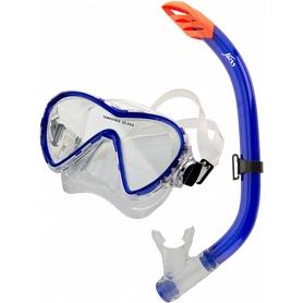 Набор для плавания (маска + трубка) Joss M148S-64 синий