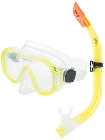 Фото 1 к товару Набор для плавания (маска + трубка) Joss M9620S-34 желтый
