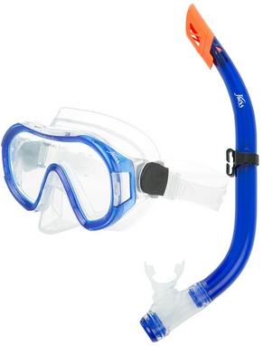 Набор для плавания (маска + трубка) Joss M9620S-34 синий