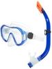 Набор для плавания (маска + трубка) Joss M9620S-34 синий - фото 1