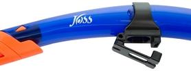 Фото 2 к товару Трубка для плавания Joss Snorkel SN131-64 синяя