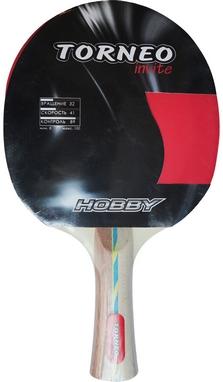 Ракетка для настольного тенниса Torneo Hobby TI-B200 черная