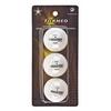 Набор мячей для настольного тенниса Torneo 1-Star TI-BWT100 (3 шт) - фото 1