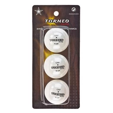 Набор мячей для настольного тенниса Torneo 1-Star TI-BWT100 (3 шт)