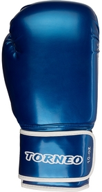 Фото 1 к товару Перчатки для тай-бо Torneo A-305B синие