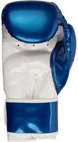 Фото 2 к товару Перчатки для тай-бо Torneo A-305B синие